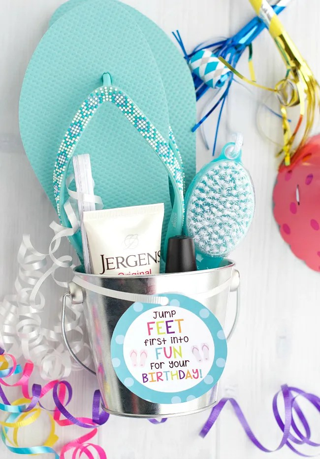 Pedicure Gifts for Birthdays