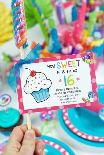 Sweet 16 Birthday Party Ideas
