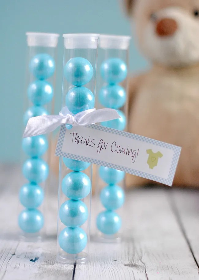 Cute Gumball Baby Shower Favors Fun Squared