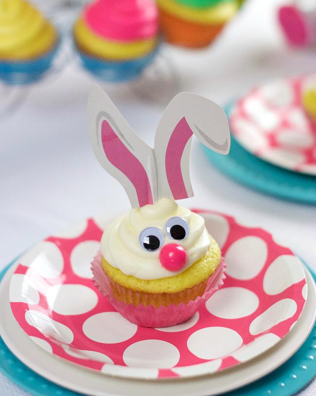 Easter Bunny Cupcake Ideas