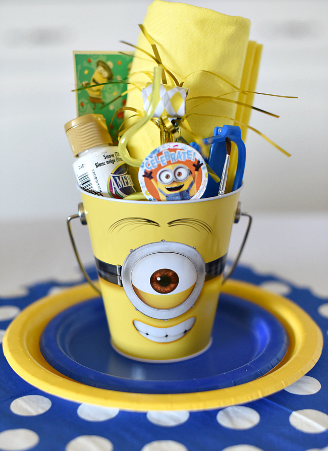 Minion Party Favors