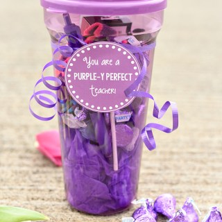 Purple Teacher Appreciation Gift