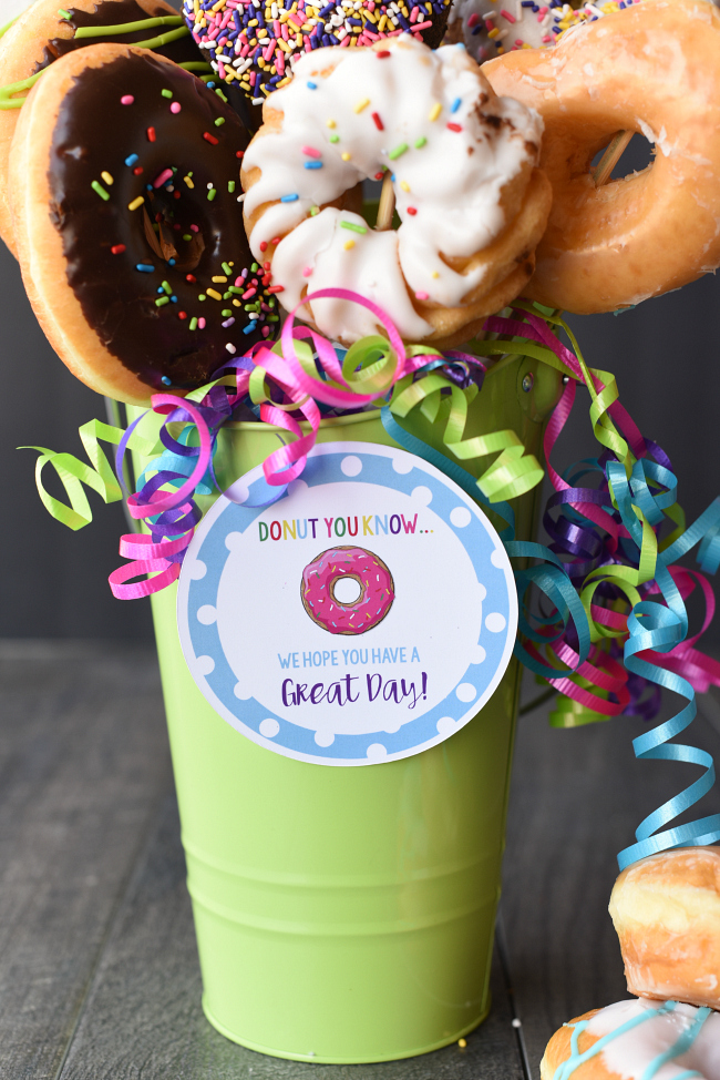Doughnut Bouquet Gift Idea