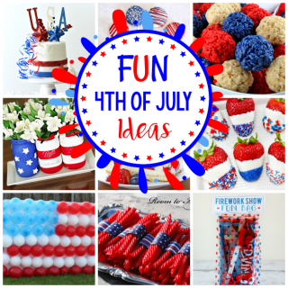 4th of July Ideas for Food, Desserts, Decorations, Party