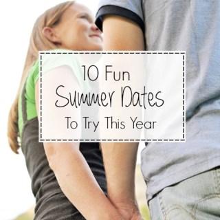 Summer Dates Ideas