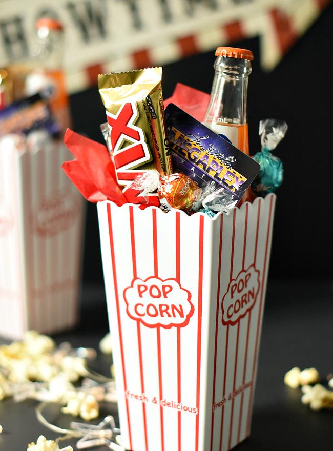 Movie Nigh Gift Basket