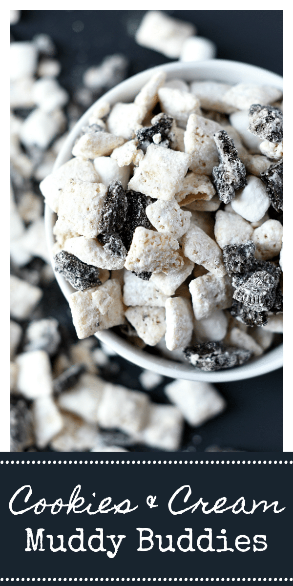 Yummy Cookies and Cream Dessert-Muddy Buddies!