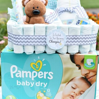 New Mom Gift Basket-A Fun Gift for a Baby Shower or Baby Gift Idea