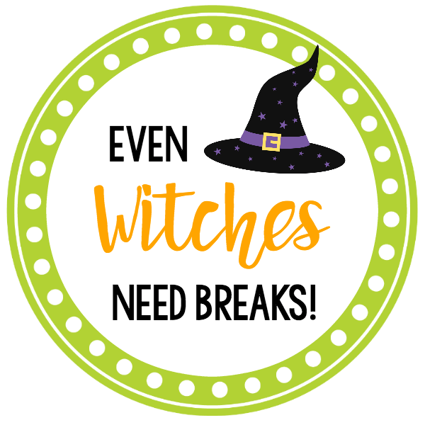 Halloween Gifts: Even Witches Need Breaks