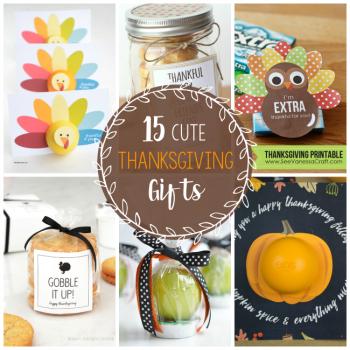 Cute Thanksgiving Gift Ideas