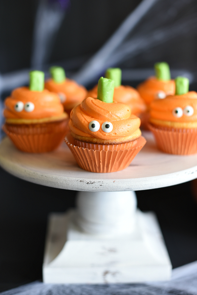 Halloween Party Food Ideas Cupcakes