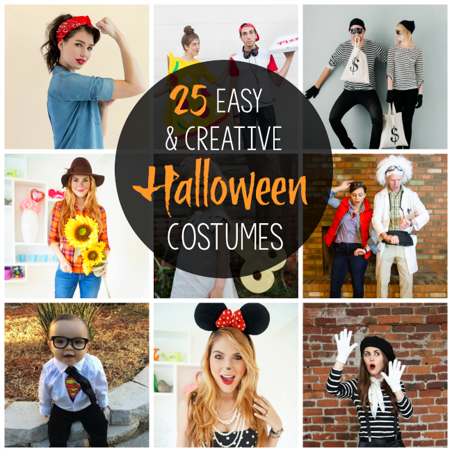 Last Minute Nye Ideas: Halloween Party Costumes: 25 Easy & Creative Ideas