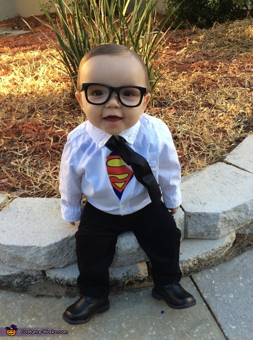 Clark Kent Costume for Babies