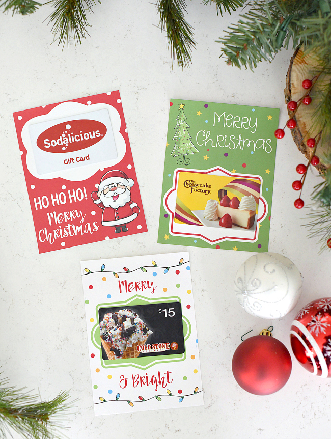Printable Christmas Gift Card Holders (1)