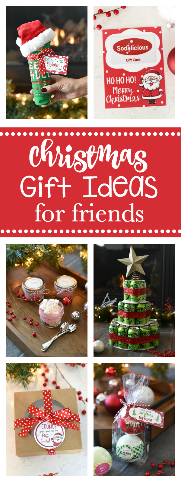 Good Gifts For Friends At Christmas Fun Squared