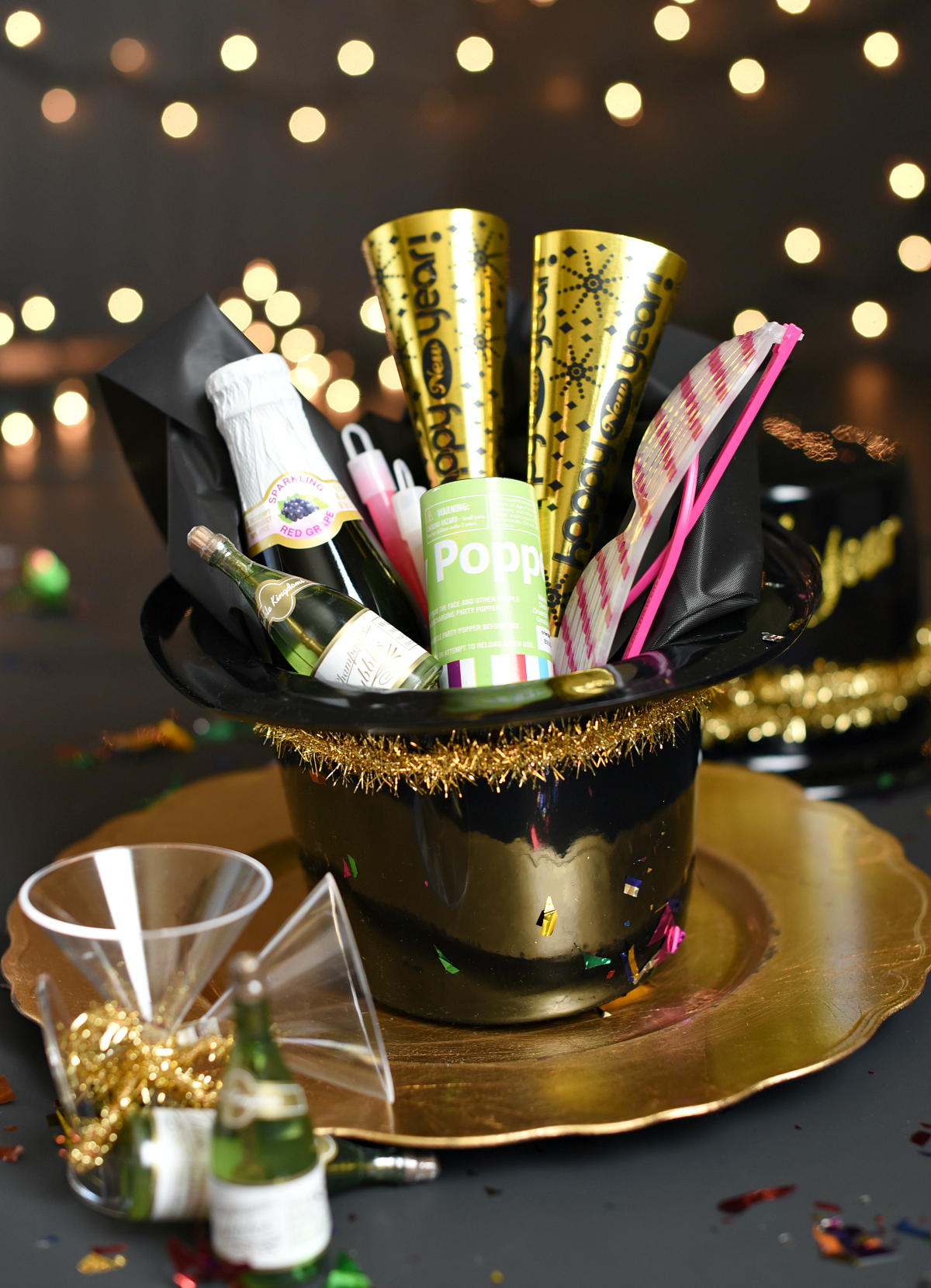 Simple New Year's Eve Party Favors