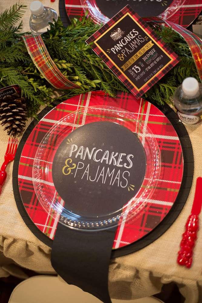Pajamas and Pancakes Christmas Party