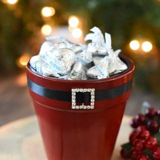 Santa Themed Candy Dish