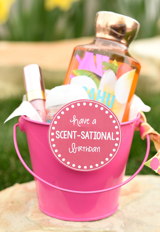 Scent-Sational Birthday Gift Idea For Friends