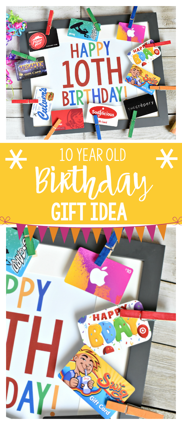 Fun Birthday Gifts For 10-Year-Old Boy Or Girl