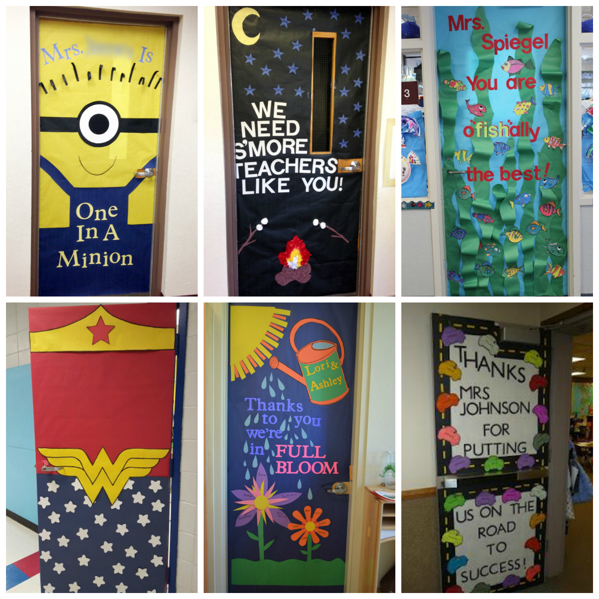If Youre On The Hunt For Some Cute Door Decorating Ideas Here Are A Few Of Our Favorites