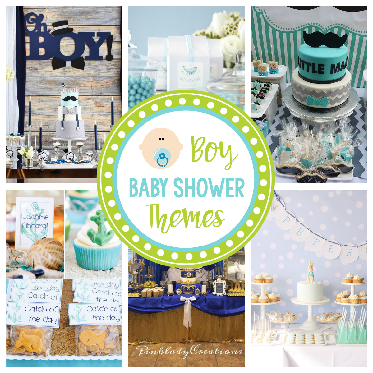 bb666af22de Baby Boy Baby Shower Themes – Fun-Squared