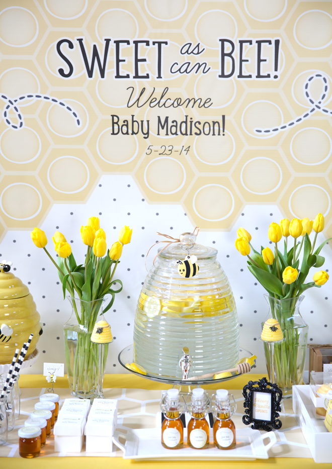 Cute Girl Baby Shower Themes Ideas Fun Squared