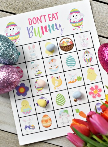 Printable Easter Games for Kids