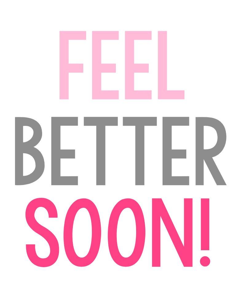 Get Well Soon Gift Tags