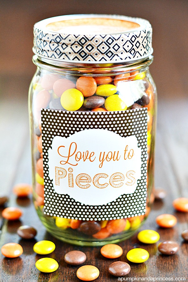 Love You to Pieces Gift Jar