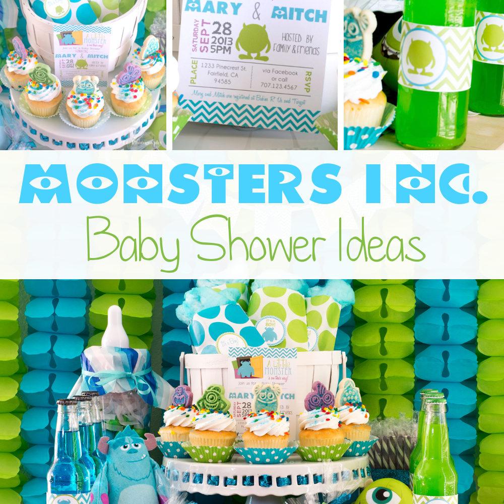 Boy Baby Shower Theme Ideas
