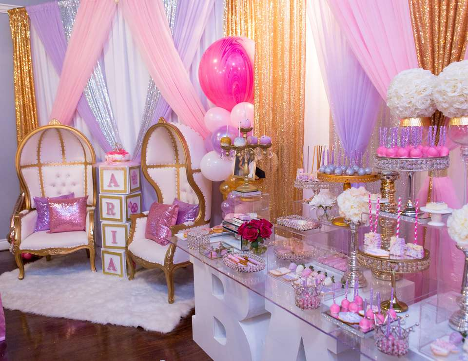 Girl Themed Baby Shower Ideas
