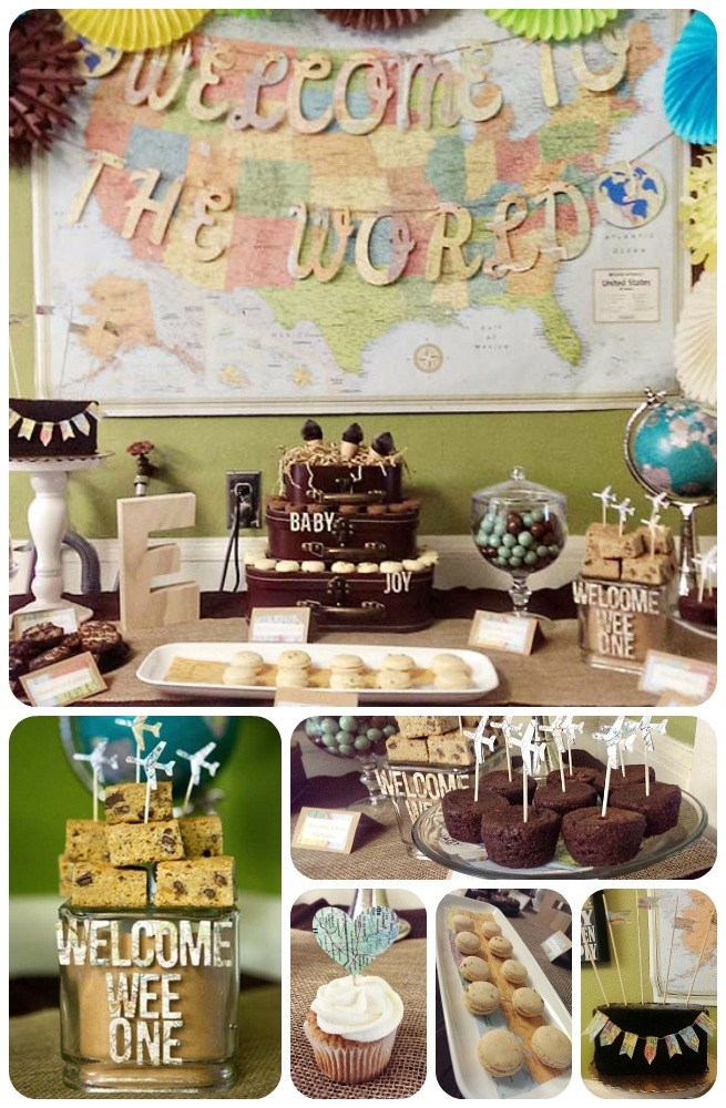 Baby Boy Shower Themes