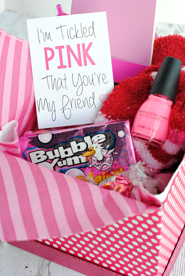 Tickled Pink Gift Idea for Friends