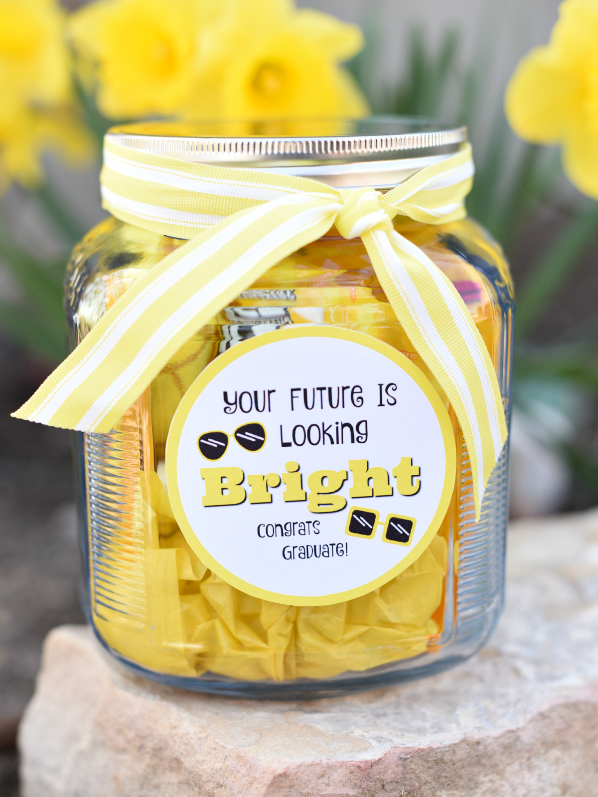 Graduation Present Ideas. This is a fun and simple graduation gift idea any graduate will love.