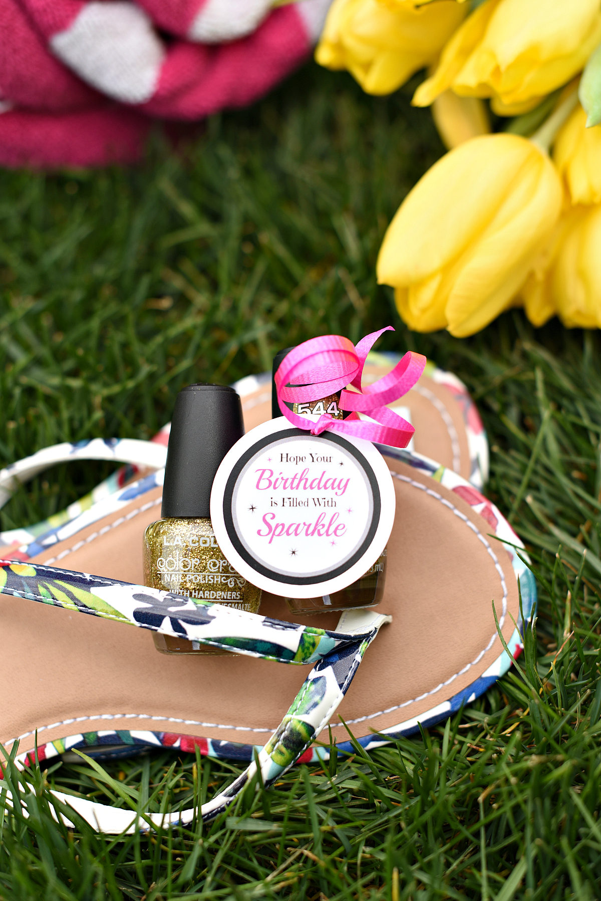 Cute Nail Polish Gift for Birthdays for Friends