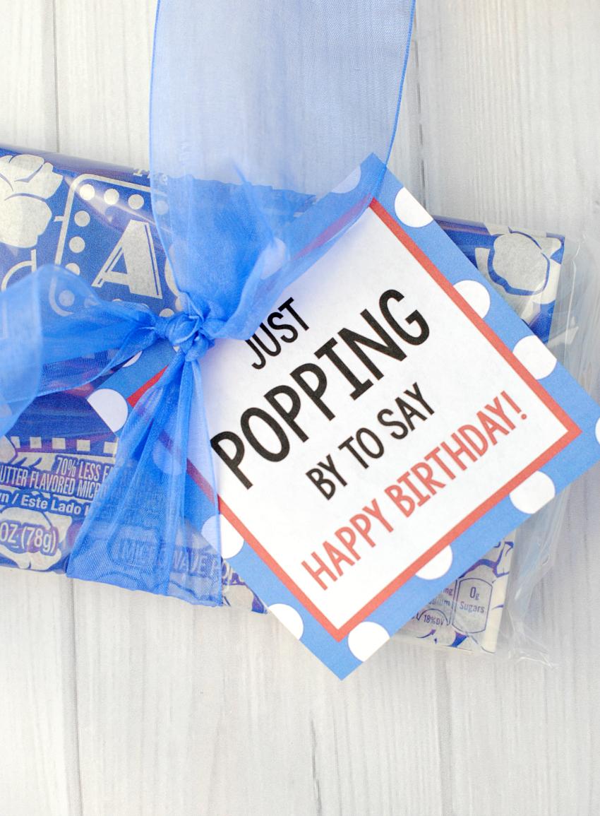 Popcorn Gift Idea