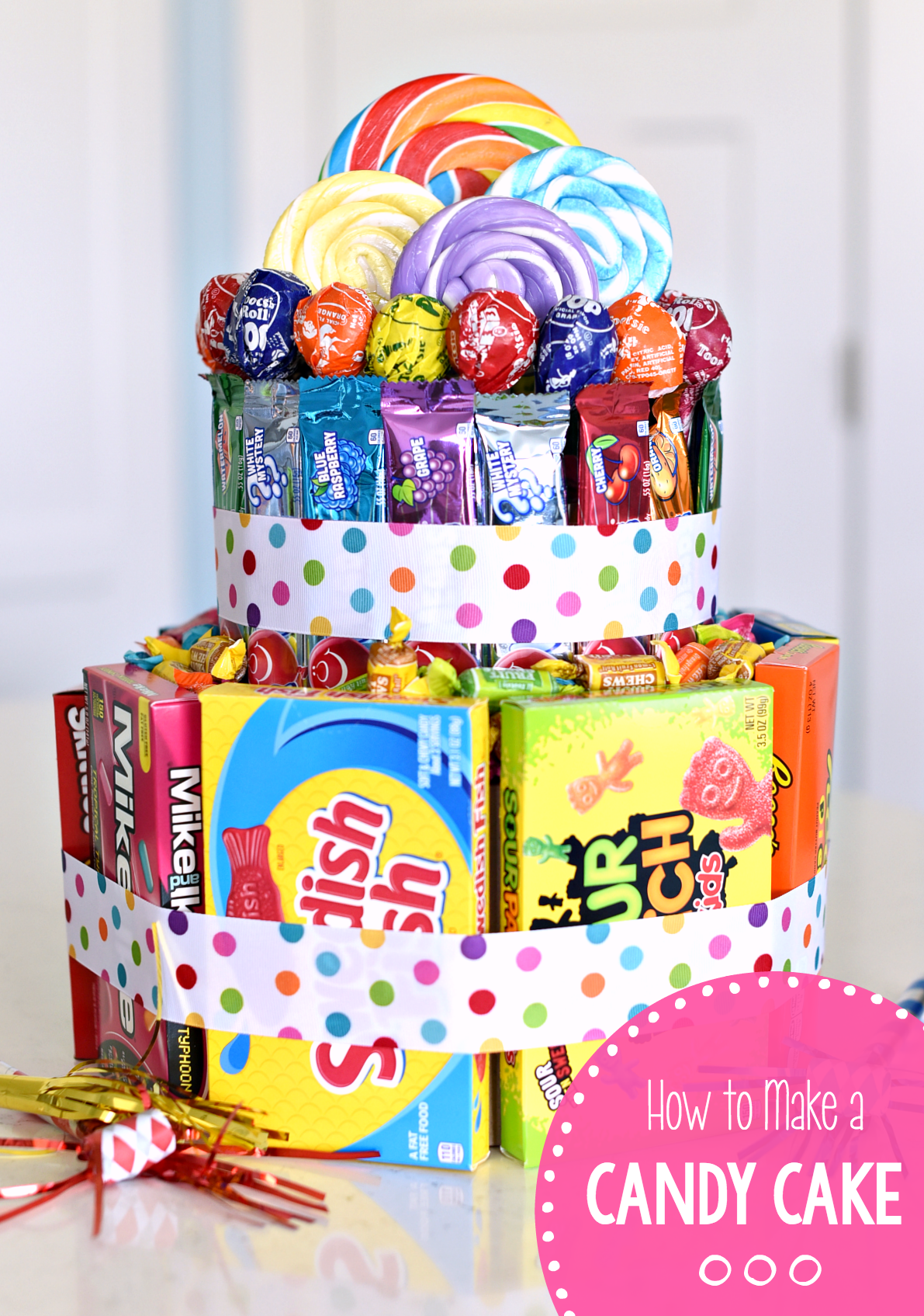 How To Make A Candy Cake Fun Squared