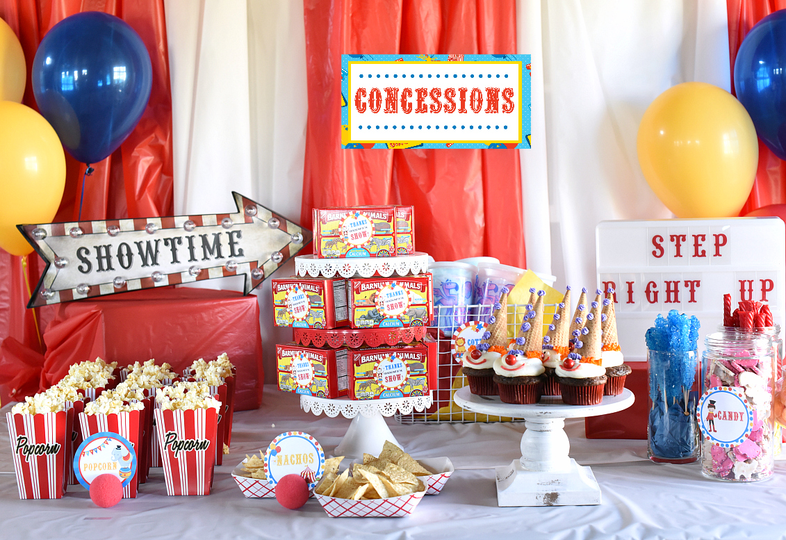Circus Party Ideas and Decorations