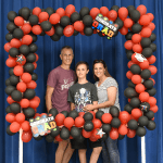 DIY Photo Booth for Graduation