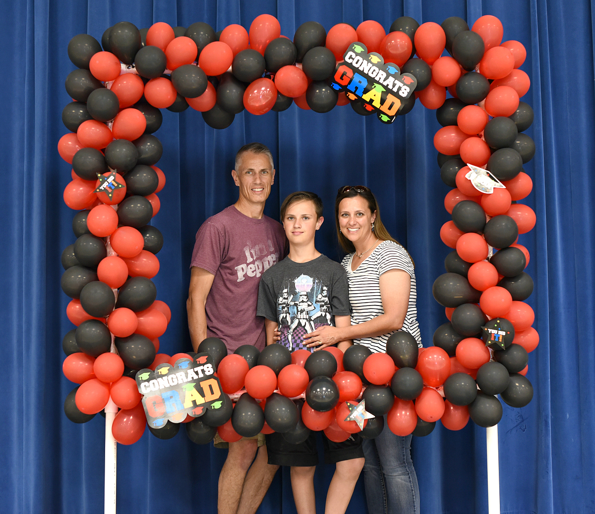 DIY Party Photo Booth with Balloons