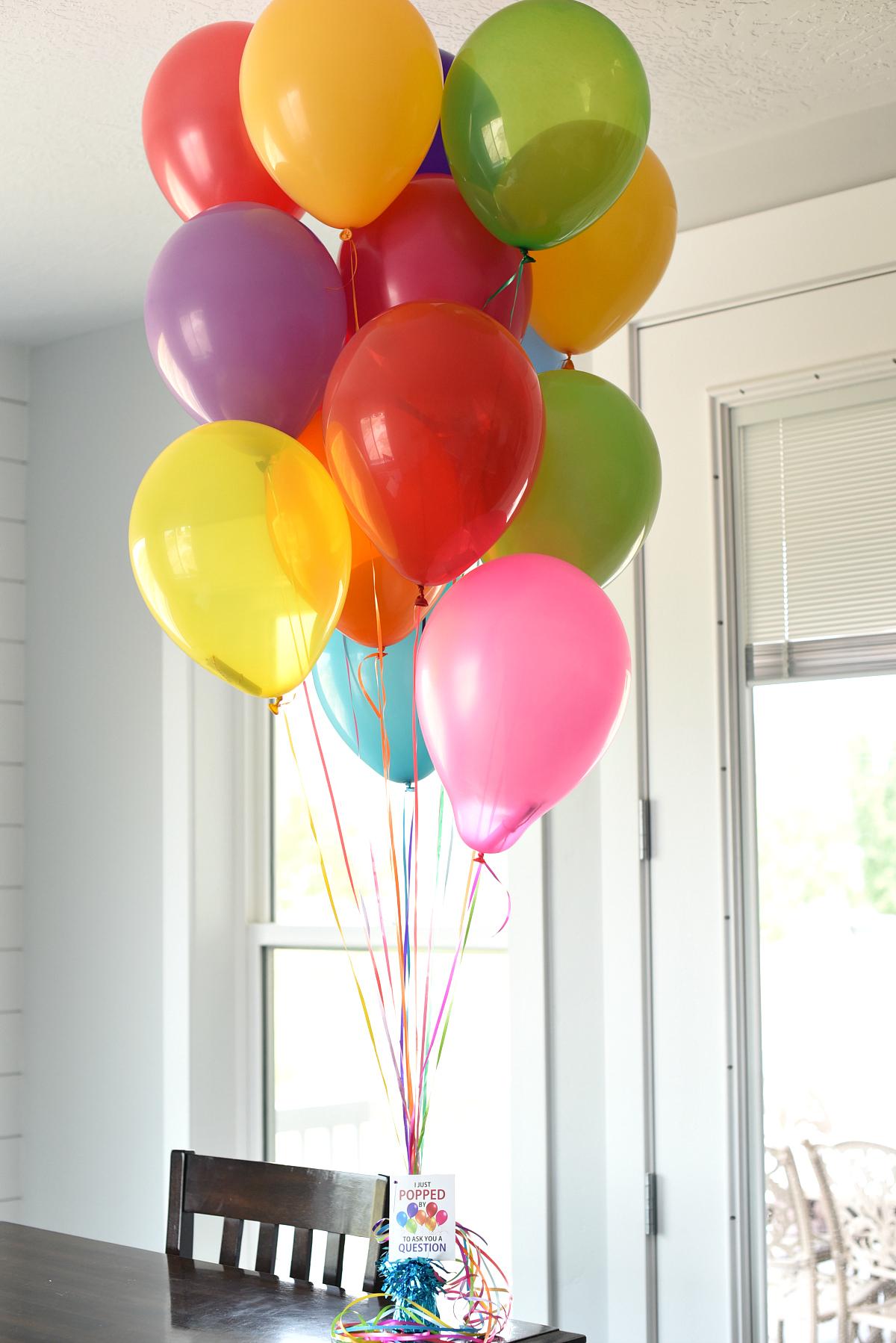 Fun Promposal Ideas with Balloons