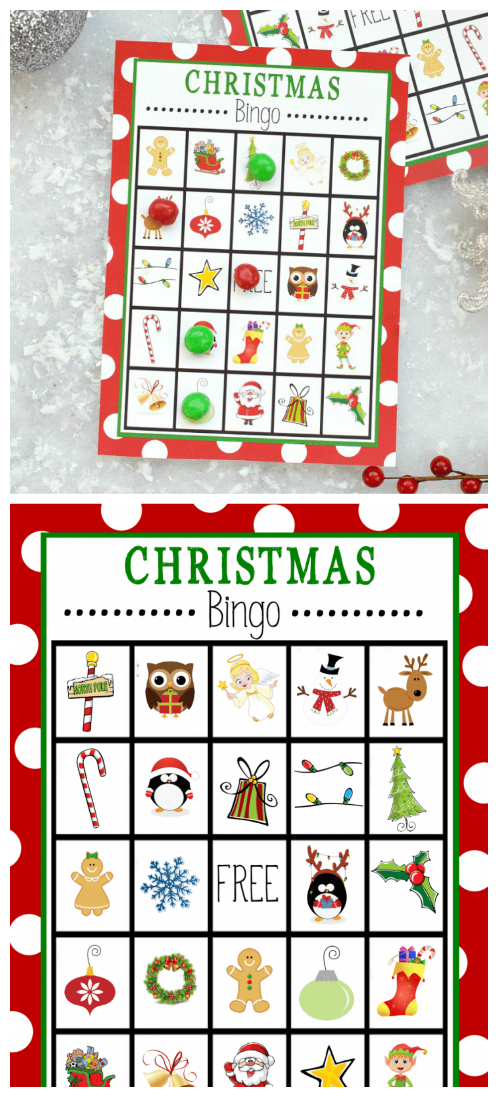 photo relating to Christmas Bingo Card Printable identified as Free of charge Printable Xmas Bingo Sport Pleasurable-Squared