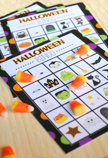 Free Printable Halloween Bingo Game