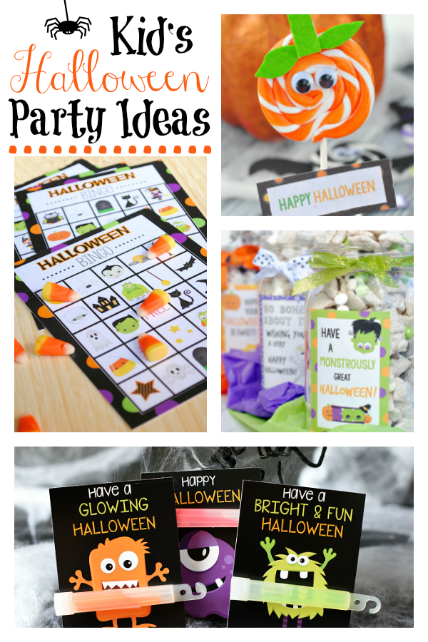Fun Kid's Halloween Party Ideas! Learn how to throw the perfect Halloween party for your kiddos this year! #Halloween #Halloweenparty #Halloweenpartyideas #kid'shalloweenparties