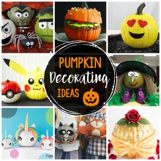 25 Fun Pumpkin Decorating Ideas
