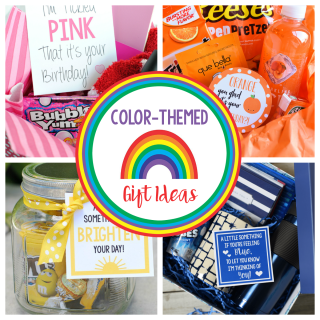 Color Themed Gifts and Gift Basket Ideas for Birthdays, Thank you gifts and more