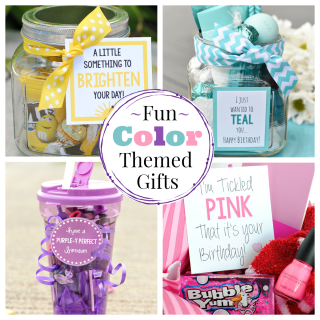 Fun Color themed gifts