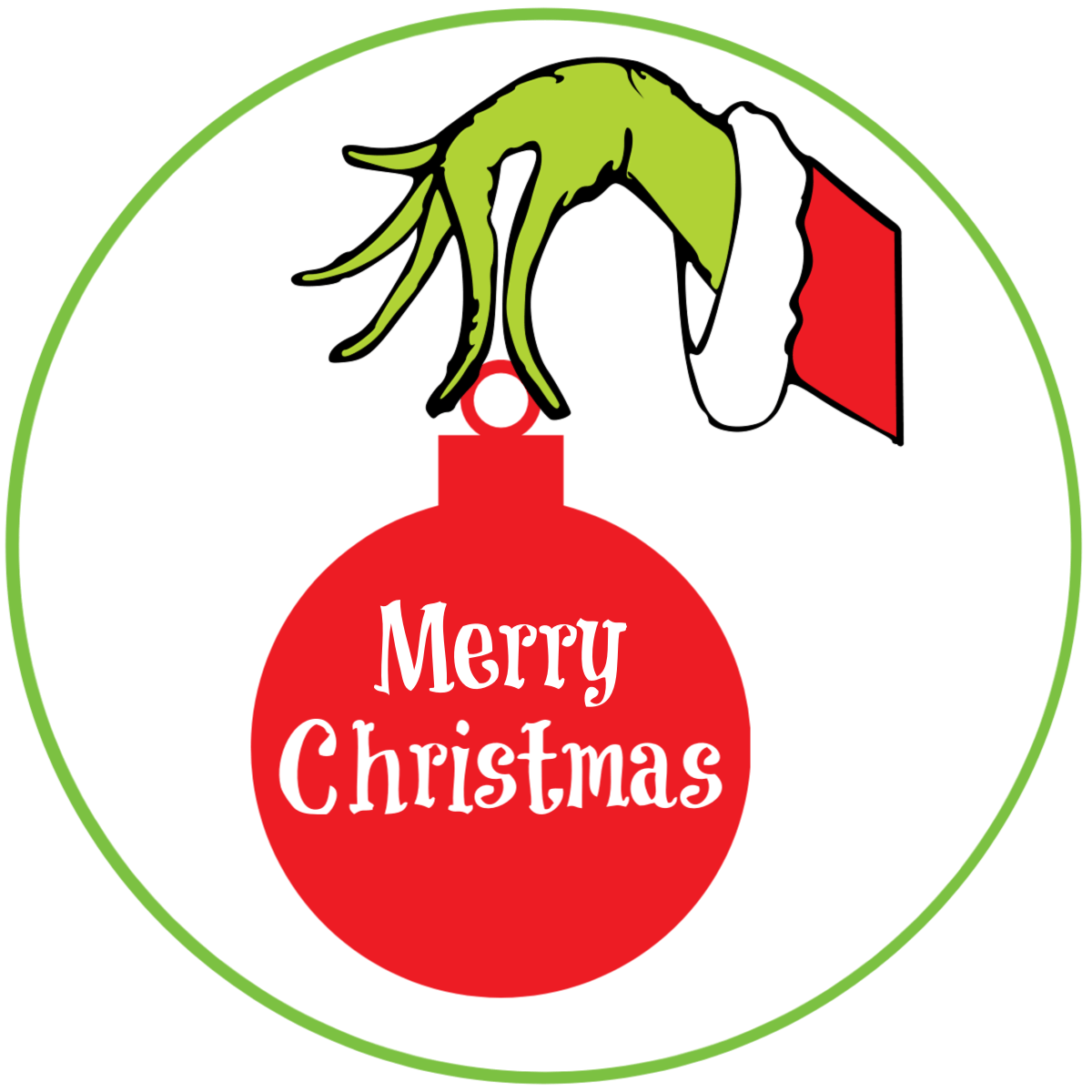 Grinch Gift Tags