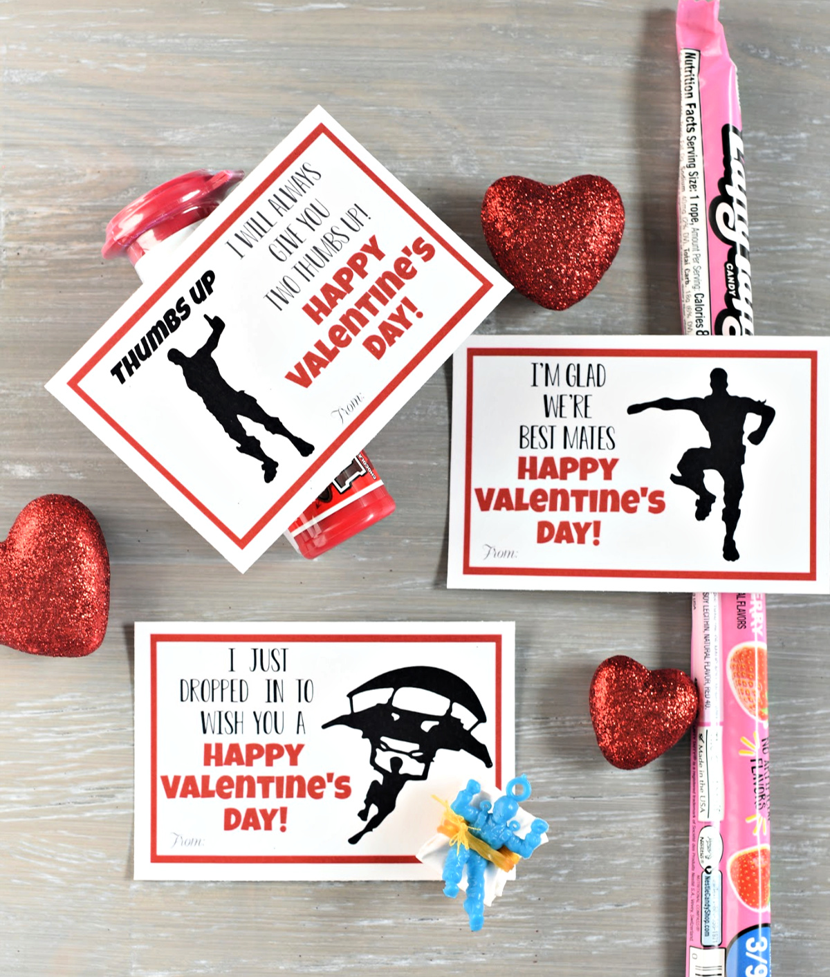 photo regarding Fortnite Printable named Fortnite Printable Valentines Enjoyable-Squared